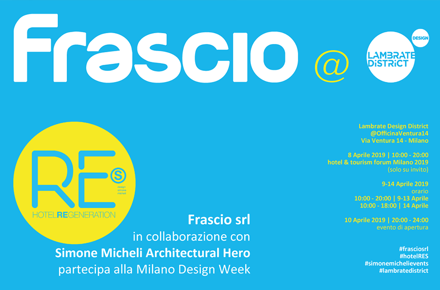 Frascio Srl @ Milan Design Week 2019