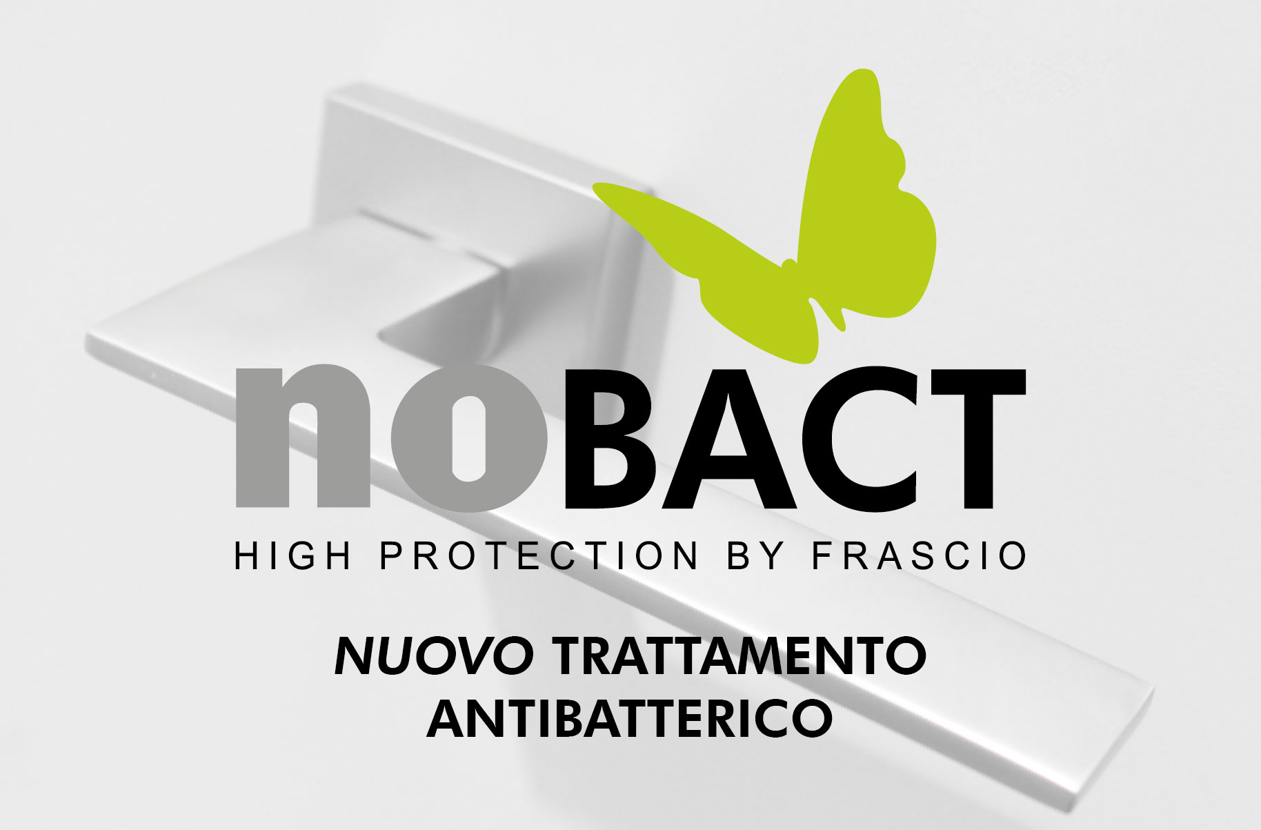 NO BACT, the new antibacterial treatment by Frascio